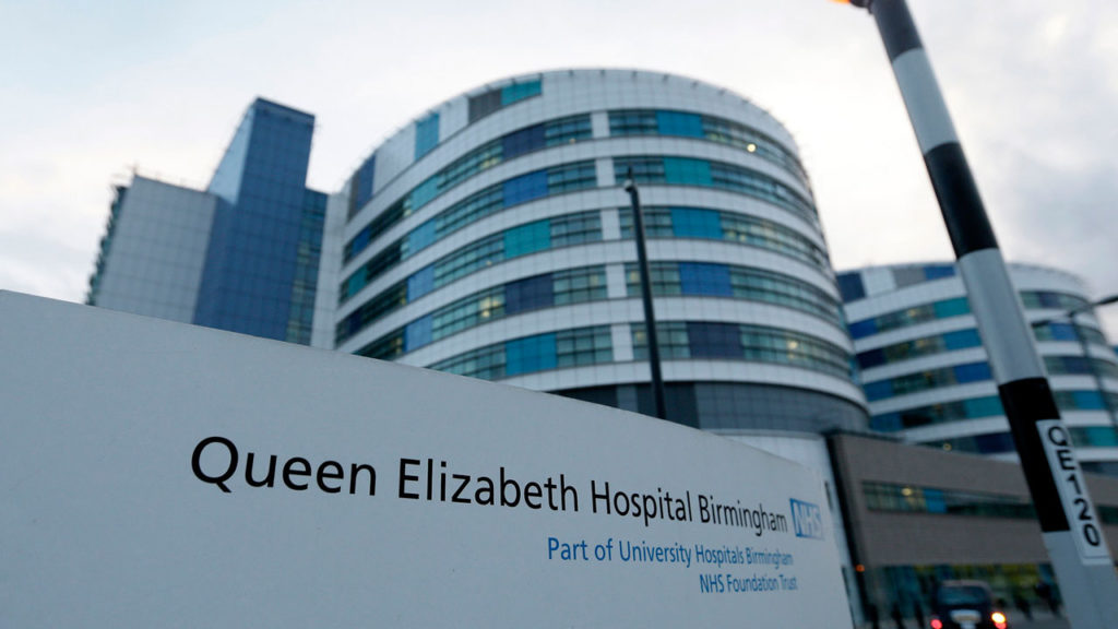 Image result for queen elizabeth hospital birmingham press office